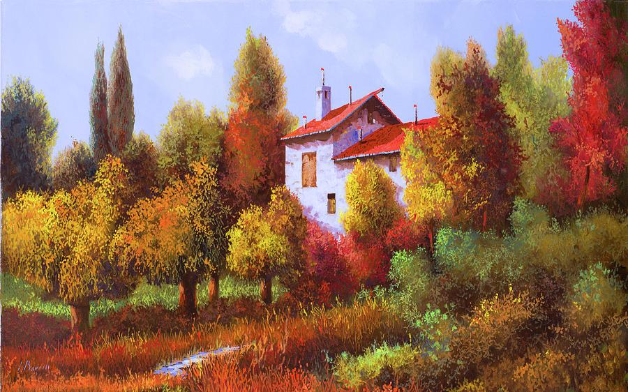 Una Casa E Mezza Nel Bosco Painting