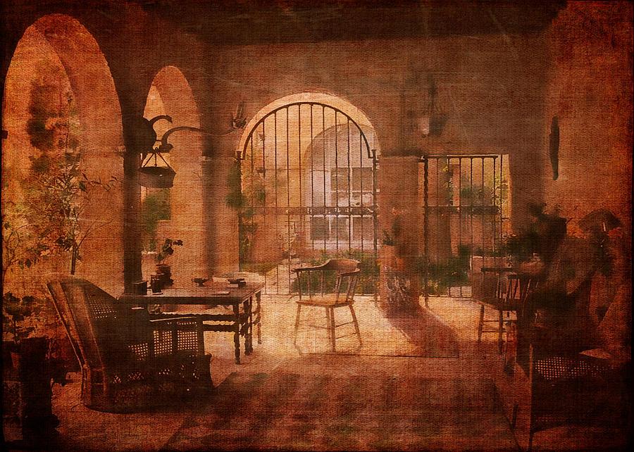 Romantic Digital Art - Una Logia Privada by Sarah Vernon