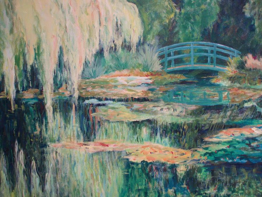 Impressionism Painting - Unassuming Grace by Tara Moorman