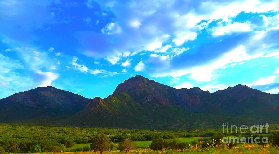 Southwest Colorado Digital Art - Unaweep Mountains  by Annie Gibbons