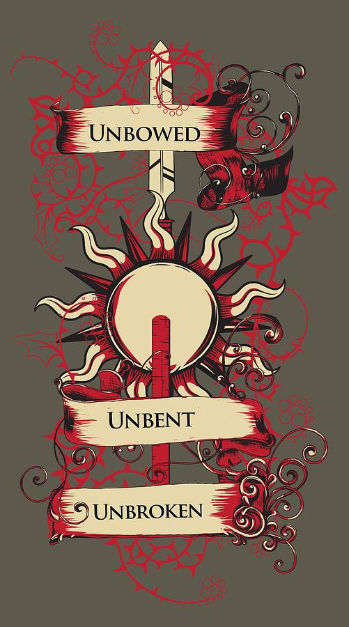 Unbowed Unbent Unbroken by Christopher Meade