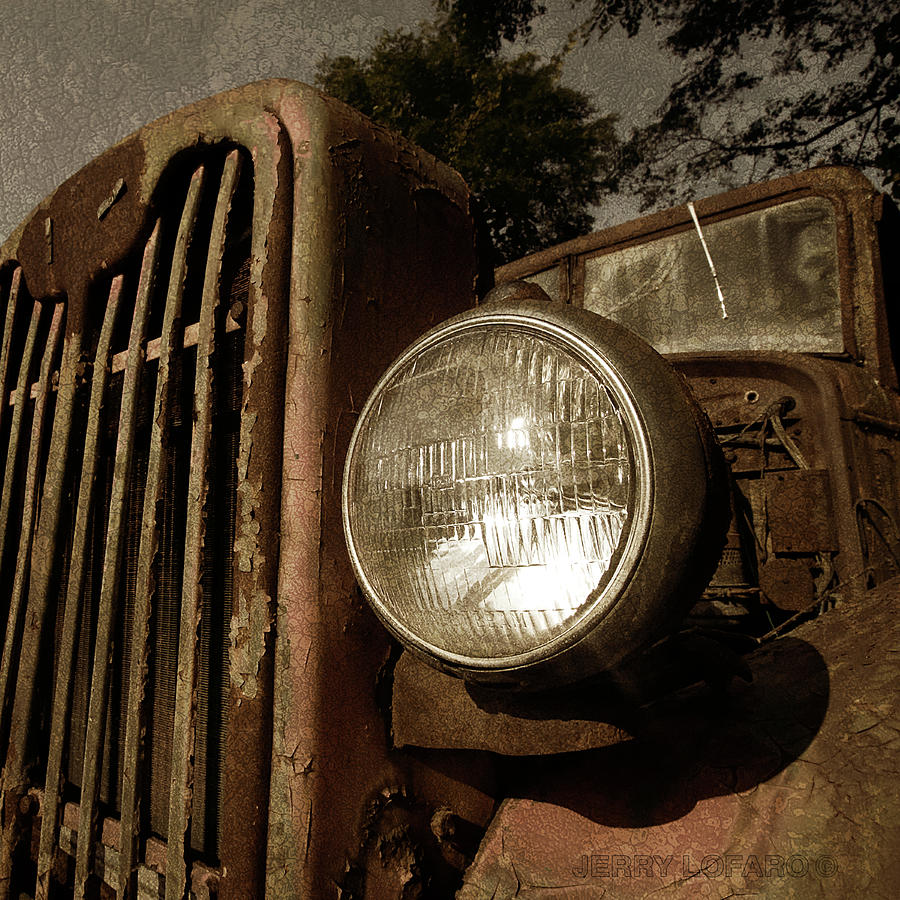 Old Truck Photograph - Unbreakable by Jerry LoFaro