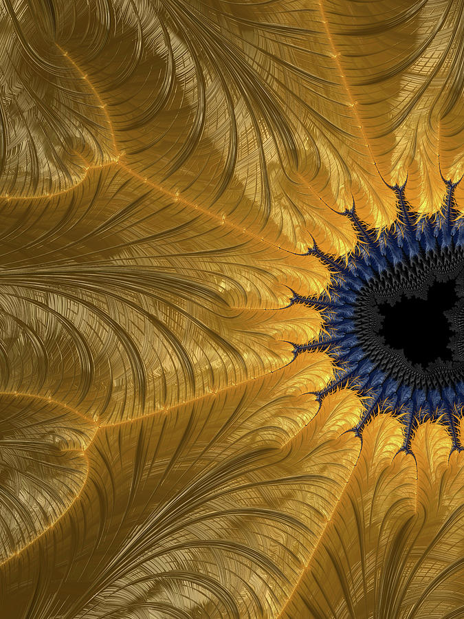 Abstract Digital Art - Unbridgeable Chasm by Jeff Iverson