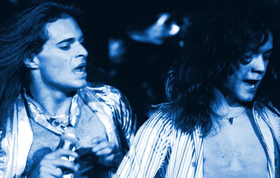 Van Halen Photograph - Unchained Blues by Ben Upham