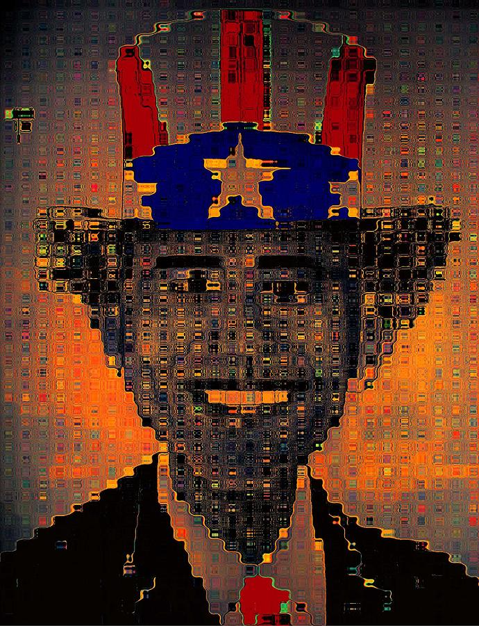 President Obama Photograph - Uncle Bam Digital by Teo Santa