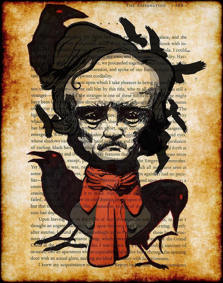 Edgar Drawing - Uncle Ed by Kyle Willis