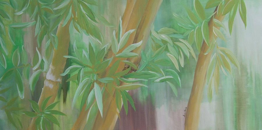 Bamboo Painting - Uncluttered by Susan Harris