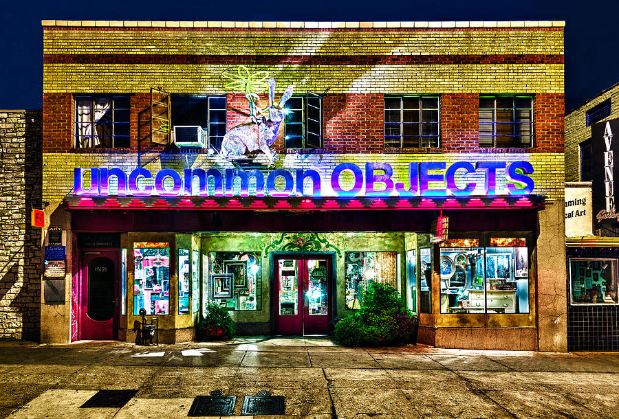Uncommon Objects at Night by John Maffei
