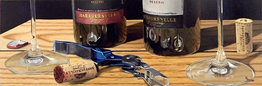 Wine Art Paintings Painting - Uncork Your Passion by Brien Cole