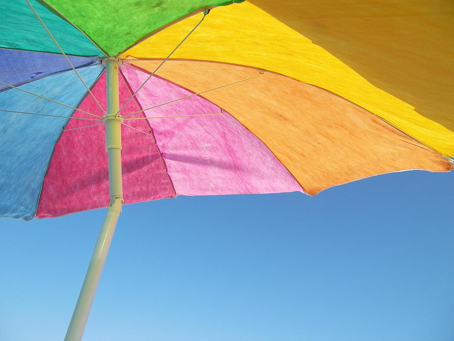 Weekapaug Photograph - Under My Umbrella by Mark Siciliano