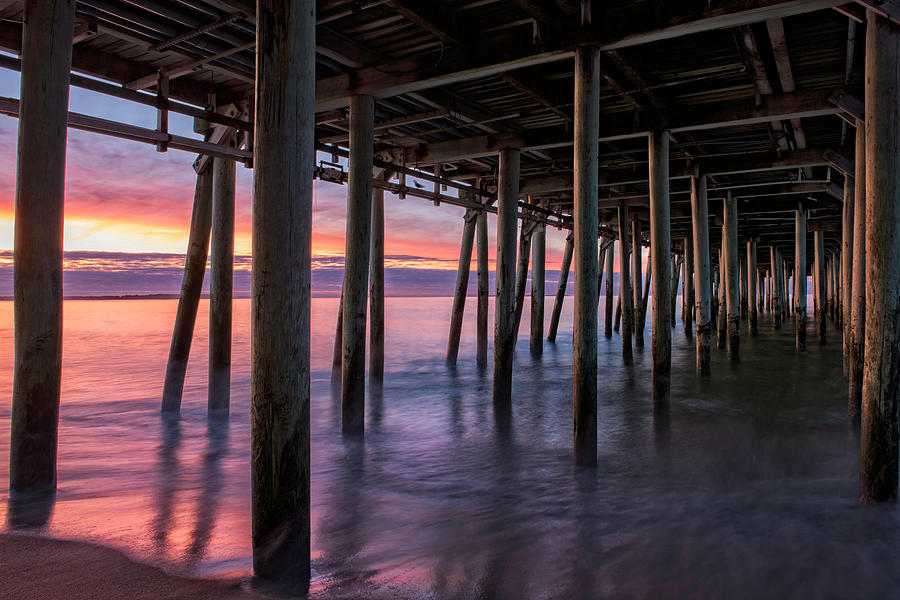 Under Old Orchard Pier by Expressive Landscapes Nature Photography