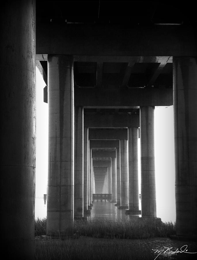 James Island Photograph - Under The Bridge by Melissa Wyatt
