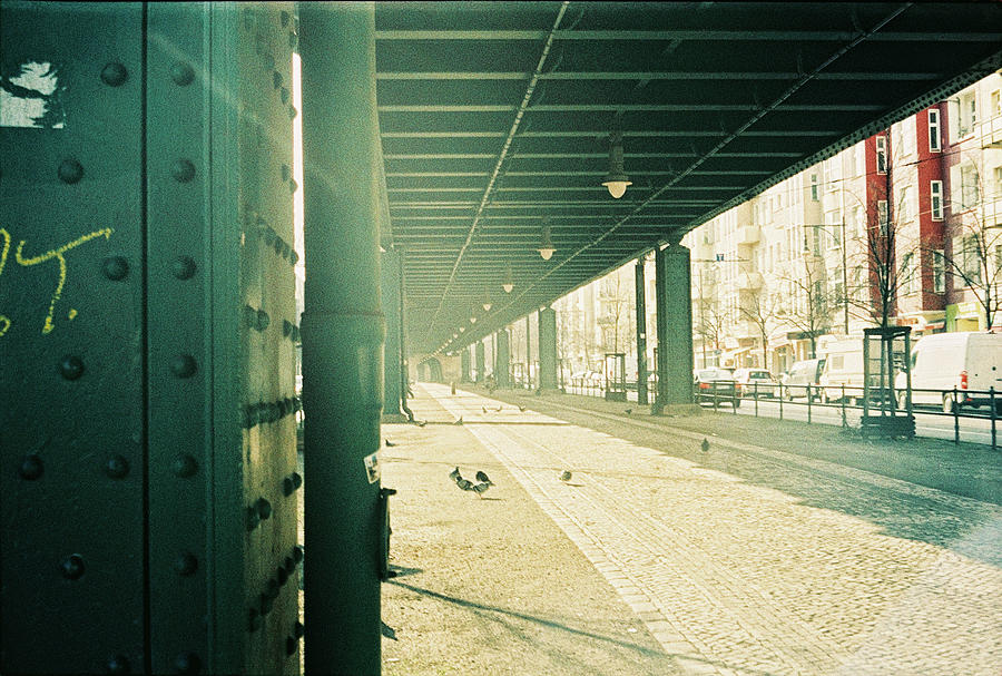 Elevated Railway Photograph - Under The Elevated Railway by Nacho Vega