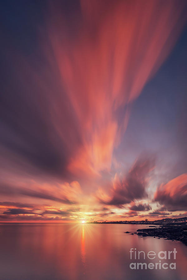 Under The Flaming Skies Photograph