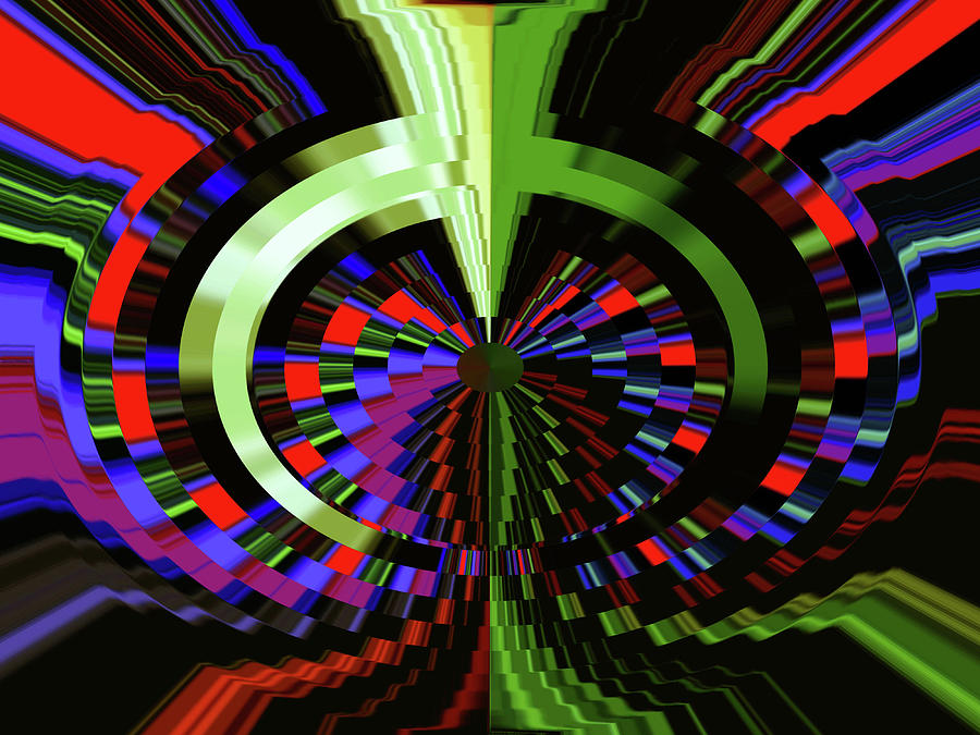 Under The Microscope Digital Art by Phil Tailleur