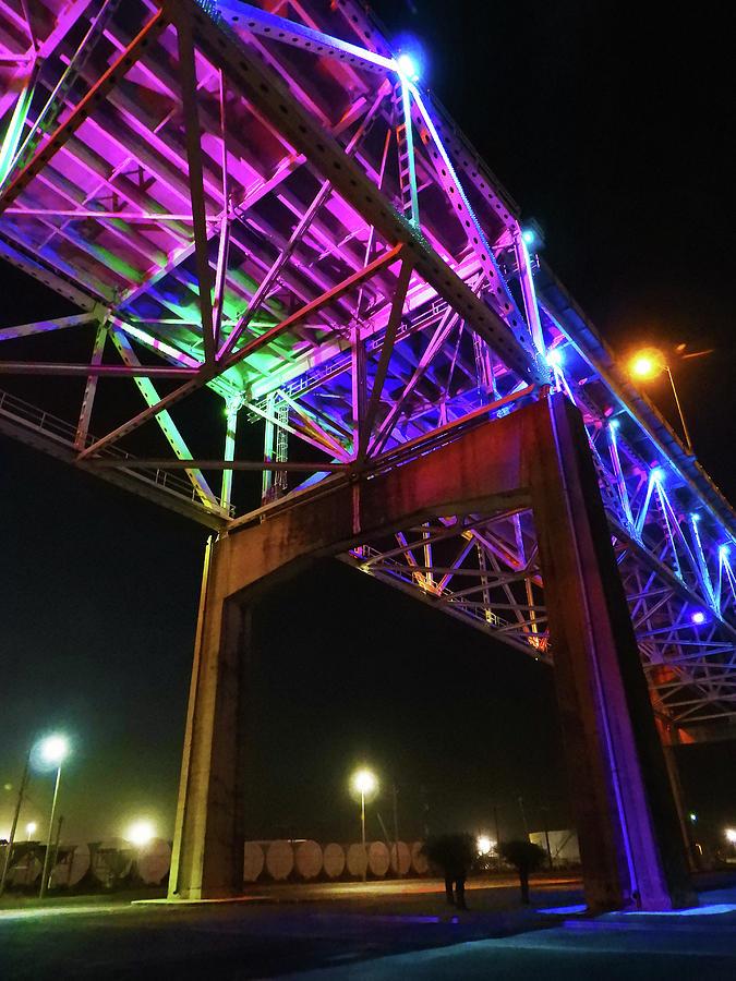 Under the Neon Bridge by Krin Van Tatenhove