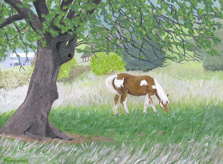 Under the Old Apple Tree by Barb Pennypacker