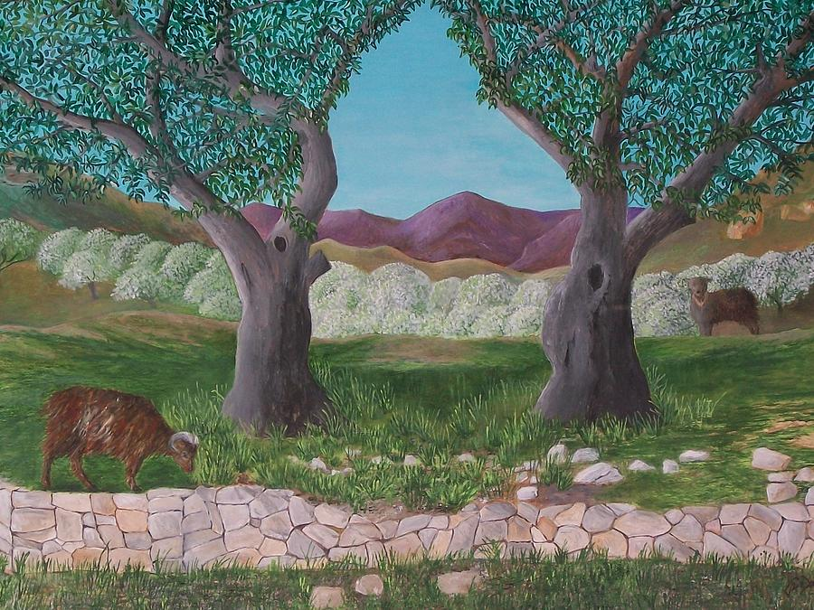 Under The Olive Trees by Joe Dagher