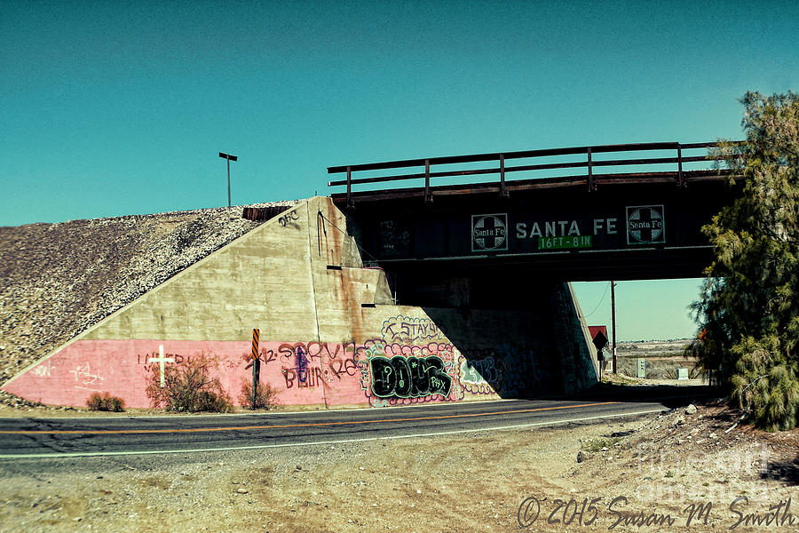 Cross Under the Overpass by Susan Smith