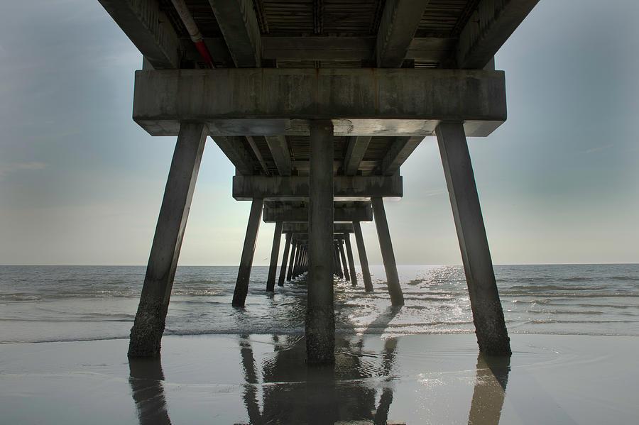 Under the Pier by David Cabana