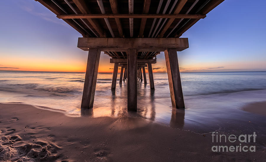 Under the Pier by Hans- Juergen Leschmann
