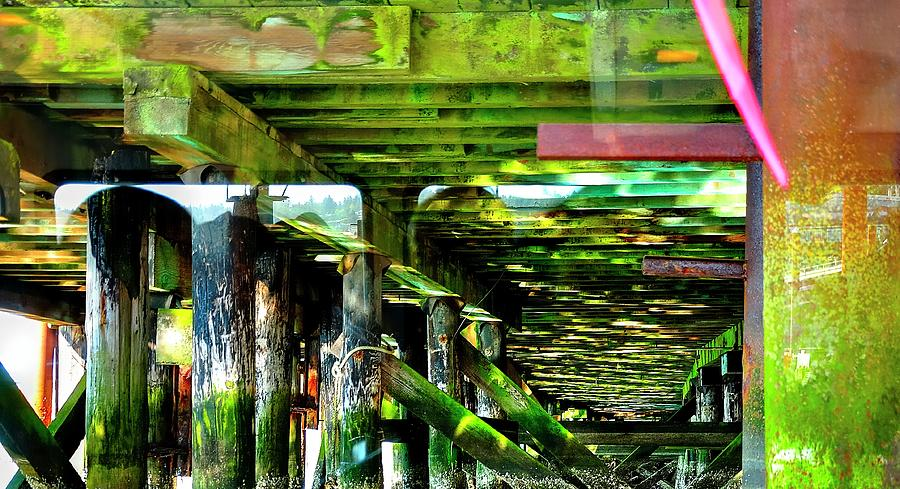 Under The Pier Photograph