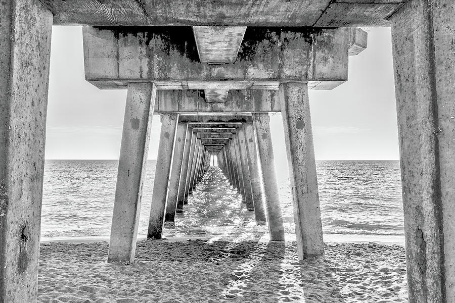 Under the Pier  by John A Megaw