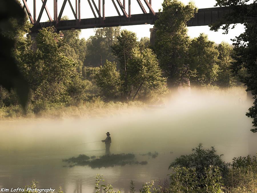 Bridge Photograph - Under The Rainbow  by Kim Loftis