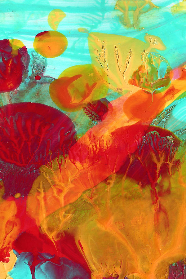 Under The Sea Abstract 6 Painting