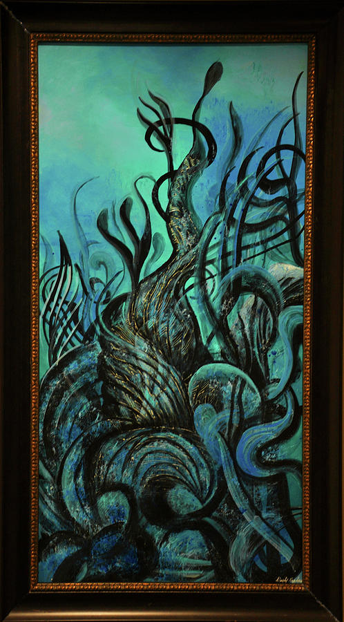 Abstract Painting - Under The Sea by Darly Raphael