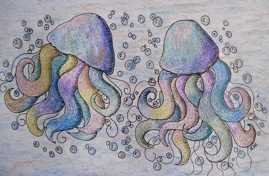 Under The Sea Drawing By Megan Walsh