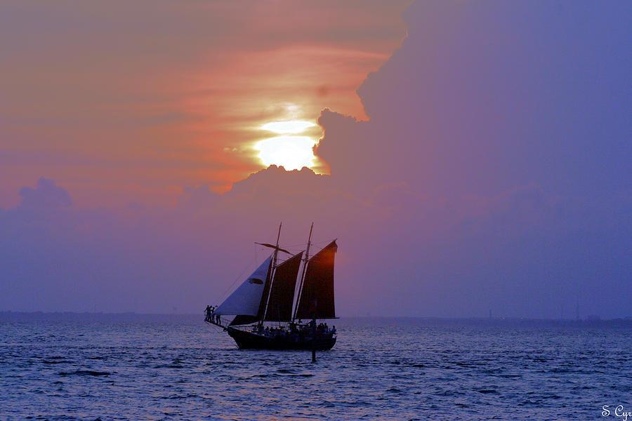 Sail Photograph - Under The Sun by S Cyr