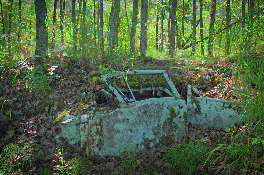 Car Photograph - Under The Trail by Cathy Mahnke