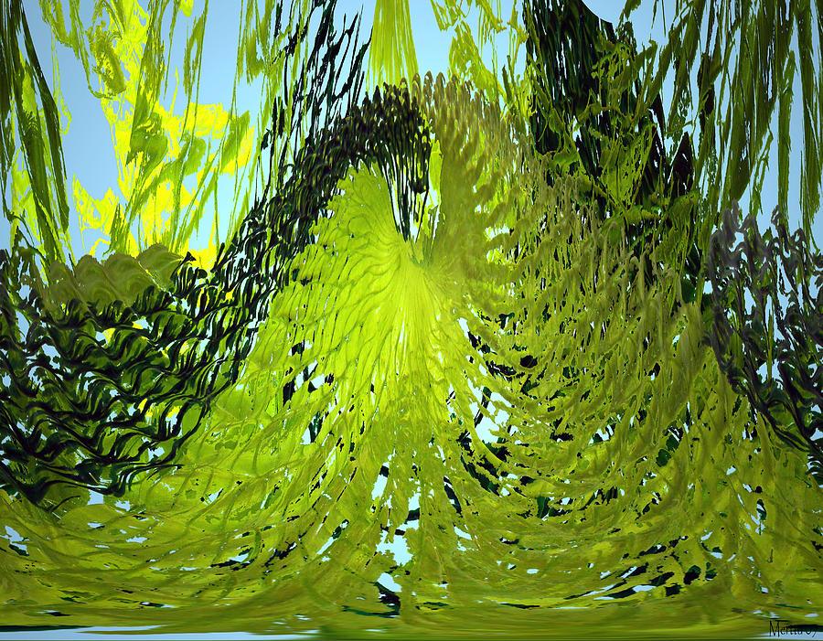 Seaweed Photograph - Under Water by Merja Waters