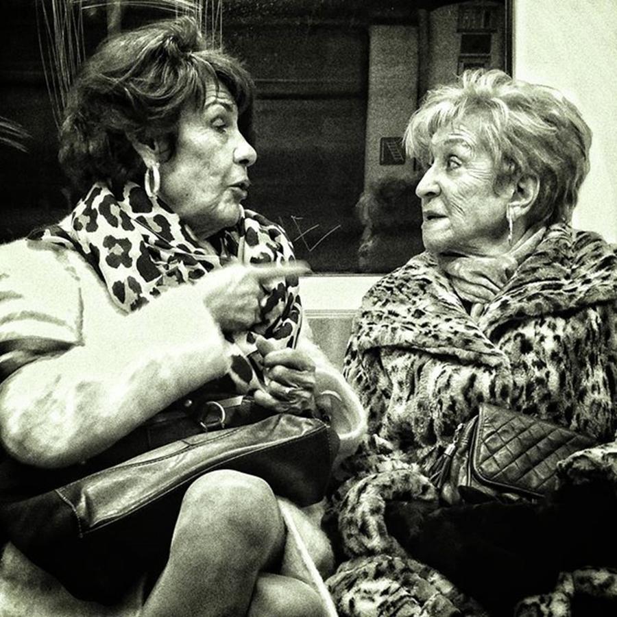 City Photograph - Underground Wild Ladies #women #ladies by Rafa Rivas