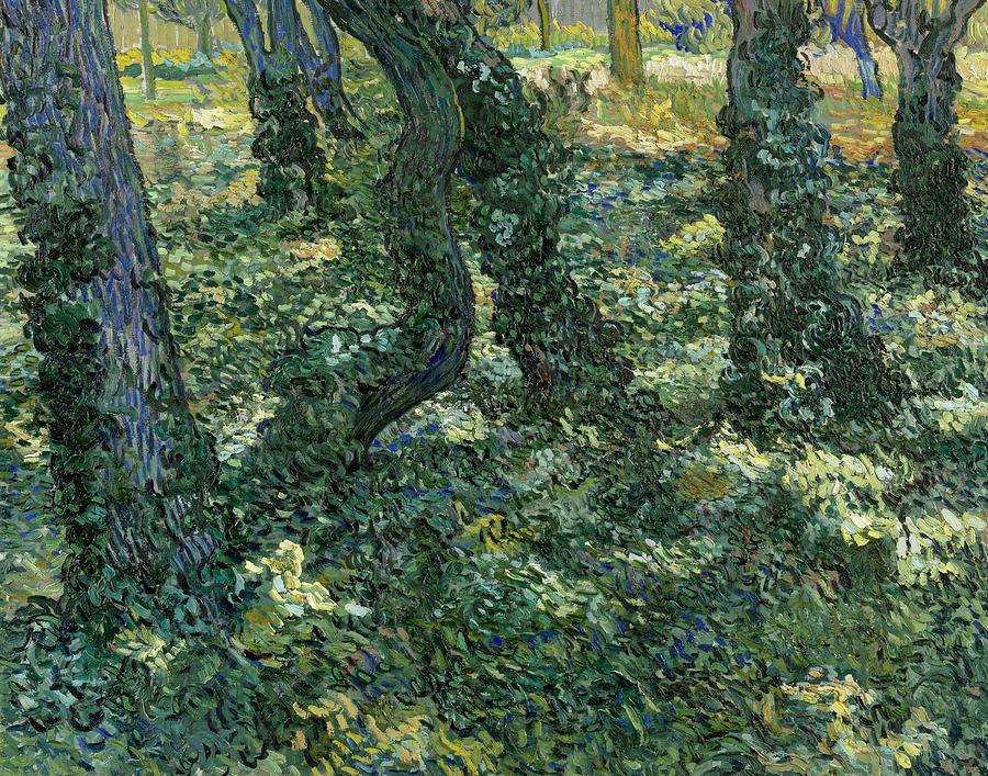 Van Gogh Painting - Undergrowth by Vincent van Gogh