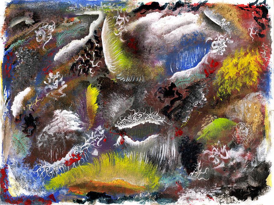 Depth Mixed Media - Underlying Theme - Portal by Nathaniel Hoffman