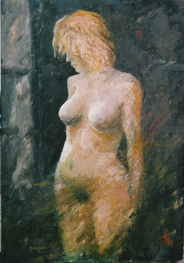 Woman Painting - Understanding Woman by Daniel Johnson