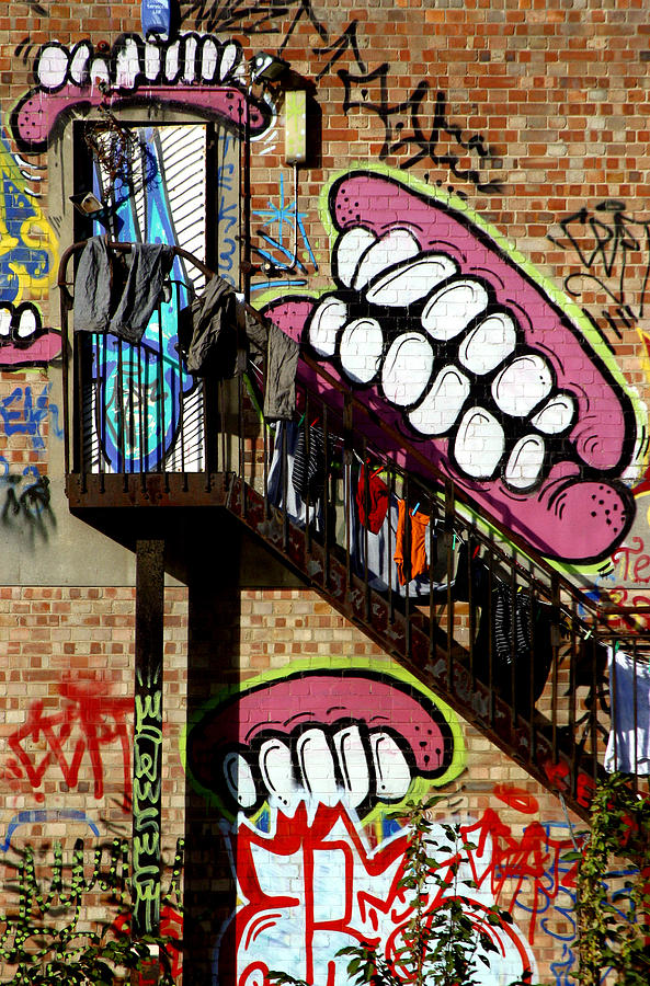 Photographer Photograph - Underteeth The Stairs 2 by Jez C Self
