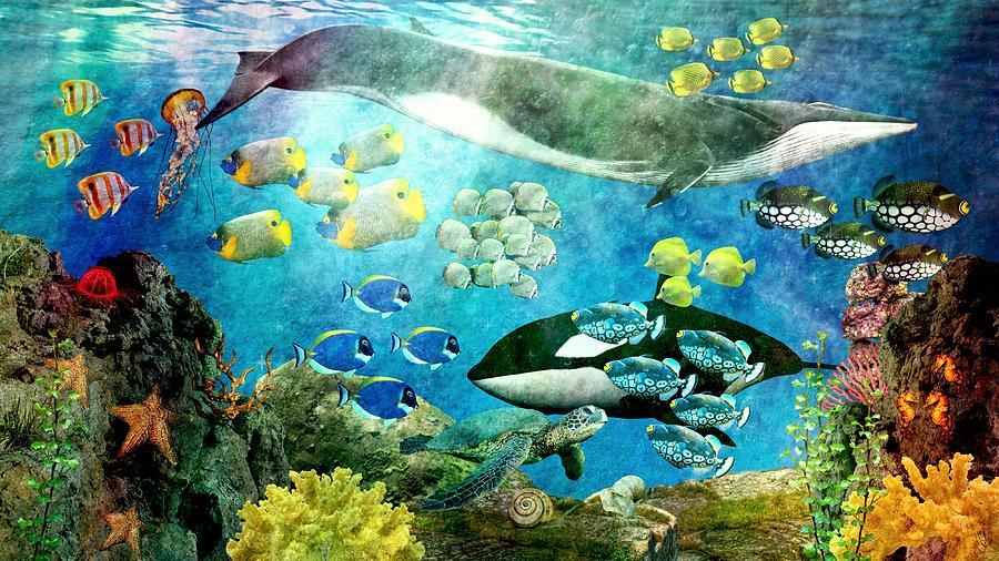 Underwater Magic Digital Art