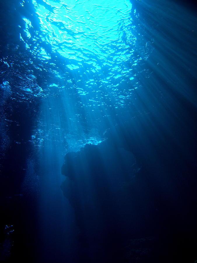Underwater Sunlight Photograph By Takau99