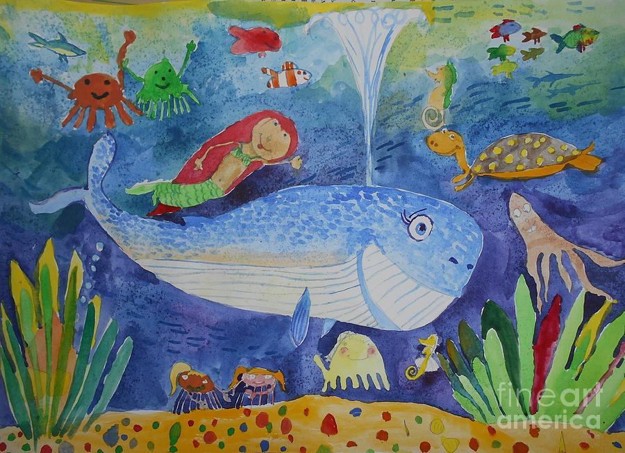 underwater World by NikaSamarina on DeviantArt  Underwater World Drawings