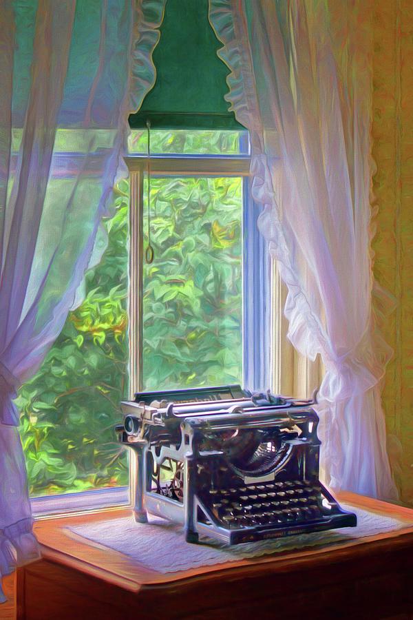 Nostalgia Photograph - Underwood - Window by Nikolyn McDonald