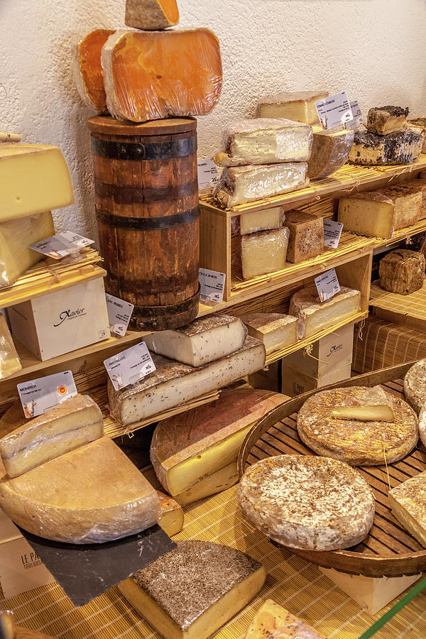 Cheese Photograph - Une Passion Pour Le Fromage by W Chris Fooshee