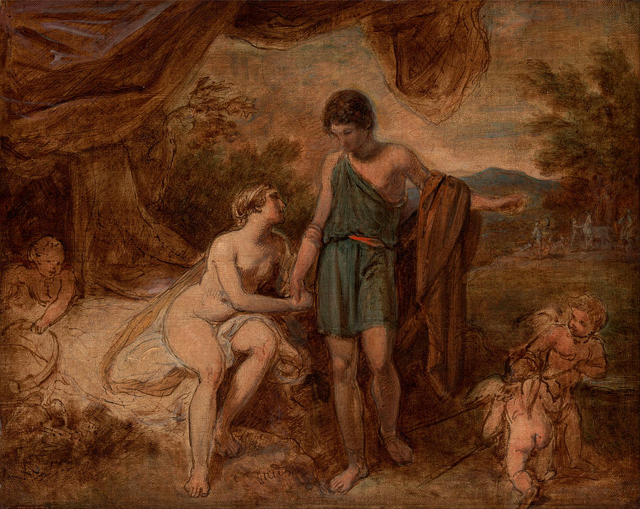 venus and adonis painting