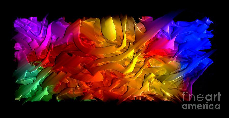 Artwork Digital Art - Unfolding Dream by Rafael Salazar