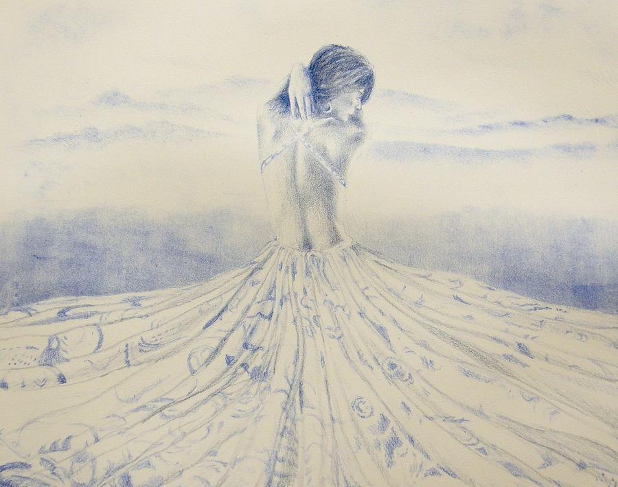 Lithography Painting - Unfolding The Twilight by Leonardo Pereznieto