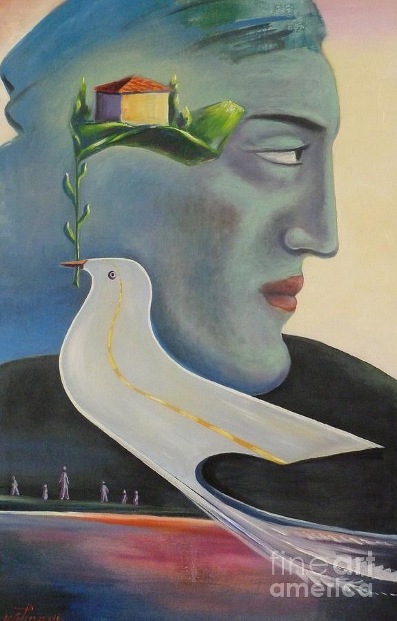 Memories Painting - Unforgettable by Ushangi Kumelashvili