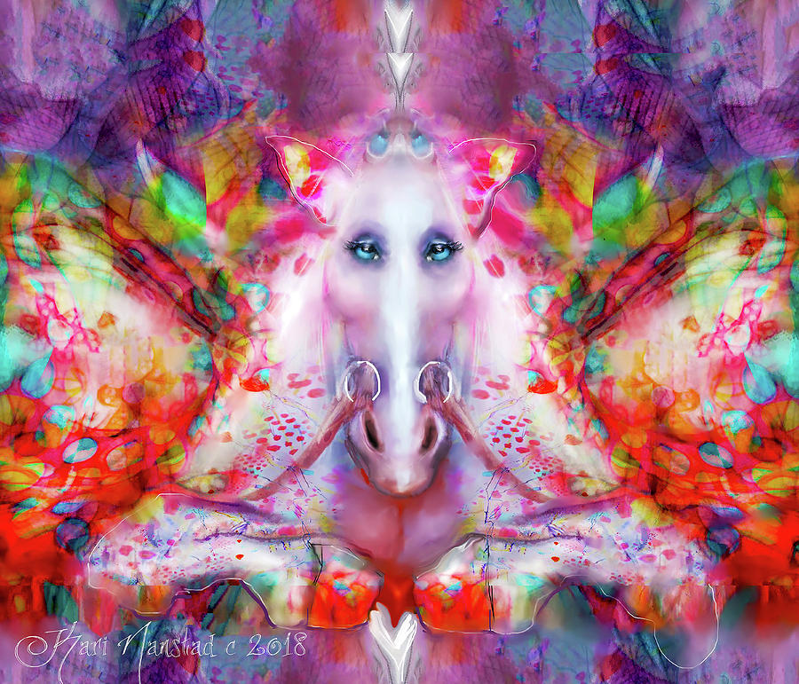 Unicorn Fairy by Kari Nanstad