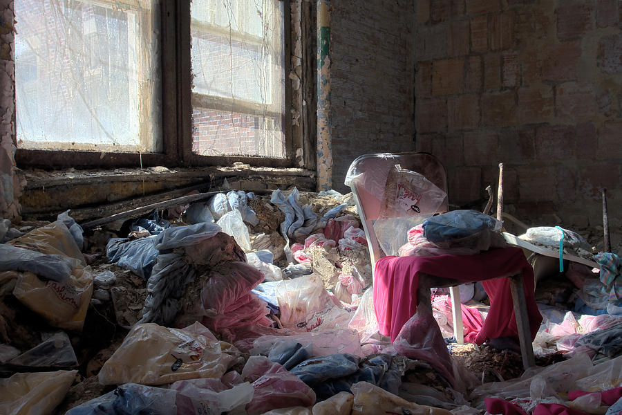 Abandonment Photograph - Uniformity by Kevin Brett
